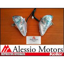 Keller Conquista 150: Juego Giros Delantero - Alessio Motors
