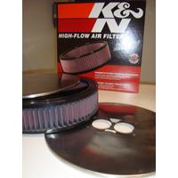 Filtro De Aire K&n Inox. Caresa Dino 36-36 40-40 44-44 Penin
