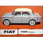 Fiat 1100 Media Luna Dentada Palanca Freno De Mano Legitima
