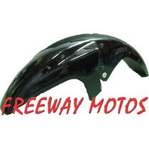 Guardabarro Yamaha Ybr 125 Negro C/soporte En Freeway Motos!