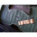 Chev.400: Cub.alfombra Cambio Volante Verde Delantera