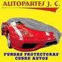 Funda Cubre Auto Cuero Ecologico