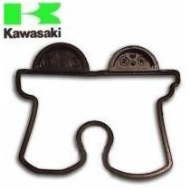 Junta Tapa De Valvula Kawasaki Kxf 250 09/14 Orig Solo Fas