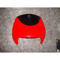Pecho Frente Gilera Smash Rojo Con Negro Original Fas Motos