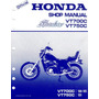 Manual Taller Mecanico Service Mant Honda Vt 700 750 Shadow