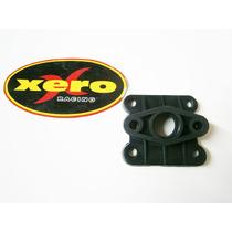 Base Admision Carburador Atv 50 Mini Cuatri En Xero Racing