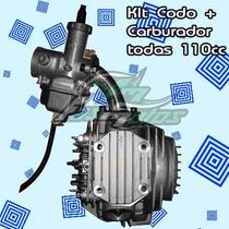 Kit Potenciación Codo Admison+carburador 200cc P/las 110!fas