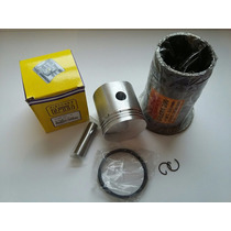Gilera 200 Antigua Camisa Piston Perno Aros Std