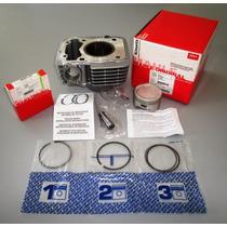 Kit Cilindro Completo C/piston Std Mahle Cg 150 Fas Motos !