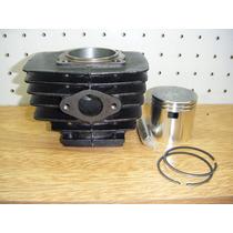 Cilindro Zanella Sol Due 5t 70cc + Kit De Piston Completo.