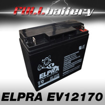 Batería Elpra Cp12170 Luky Lion 12v 17ah Motores Electricos
