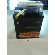 Bateria De Moto Hellux Gel Ytx7lbs 12v Medida 114x71x130mm