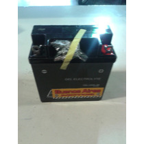 Bateria A Gel 12n5-3b Smash Zb Y Varias 110 6 Meses Garantia