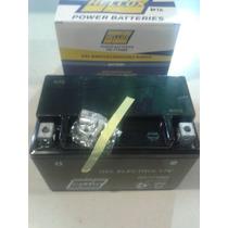 Bateria De Moto Hellux Gel Ytx9bs 12v Medida 151x87x105mm