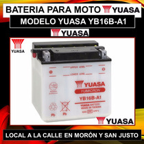 Bateria Yuasa Yb16b-a1 Honda Vf1000f Suzuki Intruder Activa
