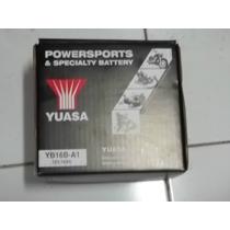 Bateria Yuasa Yb16b-a1 Para Suzuki Intruder 800 Vs800