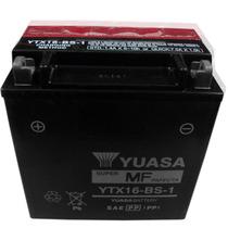 Bateria Yuasa Ytx16-bs Y Mucho Mas ..obviamente En Fas Motos
