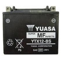 Bateria Yuasa Ytx12-bs Suzuki V-strom Gel L/mantenimiento