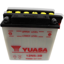 Bateria Yuasa 12n5-3b Smash Gilera Zanella Yamaha Honda