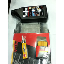 Kit Service Brasil Yamaha Fz 16 Filtro Aire, Aceite, Bujia