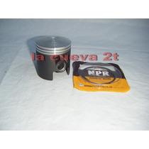 Piston Kit Zanella Competicion Grafitado Dia 48mm Aros 1mm