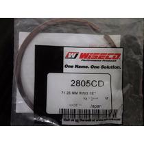 Juego Aros Honda Cr 250 Vieja - Medida 71,25 Mm Wiseco