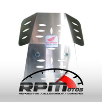 Chapon Cubre Carter Honda Nx 400 Falcon Aluminio Reforzado