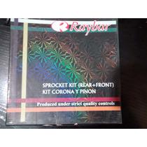 Kit Piñon Y Corona Raybar Gilera Smash 110 14t-35t