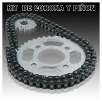 Kit Corona Y Piñon Y Cadena Guerrero Gmx 150cc 38-15 2r
