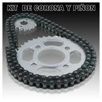 Kit De Corona ,piñon Y Cadena Gilera Smash Tunning 110 - 2r