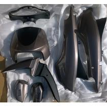 Kit Plasticos Negro/gris X 7 Gilera Smash Originales - 10760