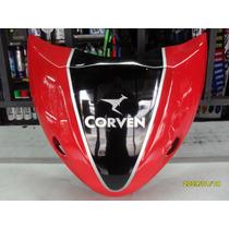 Pechera Corven Mirage 110cc Roja/negra Original Motovergara