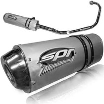 Escape Spr Aluminium 4 Honda Cg 150 Titan En Freeway Motos