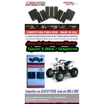Juego Lamina Flapper Blaster 0.38 Comp Fibertech Made In Usa