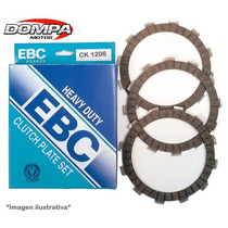 Kit Discos Embrague Ebc Heavy Duty Honda Cbr 600 900 Dompa