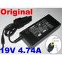 Cargador Ac Adapter Notebook Original Toshiba 19v 4.74a