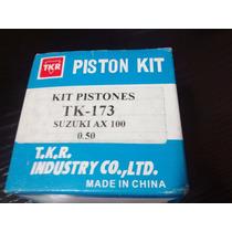 Kit Piston Y Aros Suzuki Ax 100 0,50