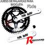 Bici Plato Y Palancas Aluminio Fixie Fire Bird Richard Bikes