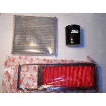 Kit De Filtros Honda Fit 1.4 Aire Aceite Habitaculo