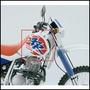 Ruleman Bancada Honda Xr600 Lado Izq Original 91001-mn1-671