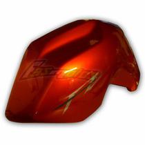Cacha Tanq Naranja Izquierda Yamaha Fz 16 Origina Fas Motos