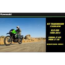 Kit Transmision Jt Japon Corona 43t Piñon15t Klr650 Kawasaki