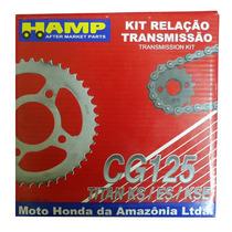 Kit Transmision Original Honda Cg 125 Titan 2000 Motorbikes