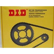 Kit Did De Transmicion Cg Fan -titan 125 Ks -es