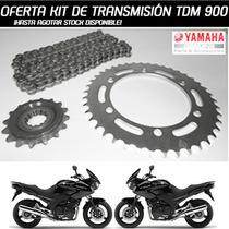 Kit Transmision Yamaha Tdm 900 Original Solo En Fas Motos