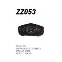 Tablero Instrumentos Completo Zanella Rx150 (modelo Nuevo)