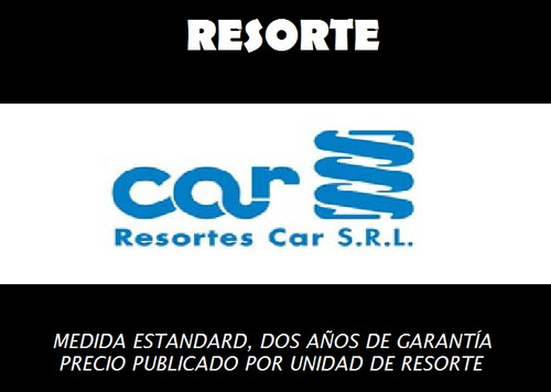 Resorte/espiral Car Delantero Std Chevrolet Corsa 1.6