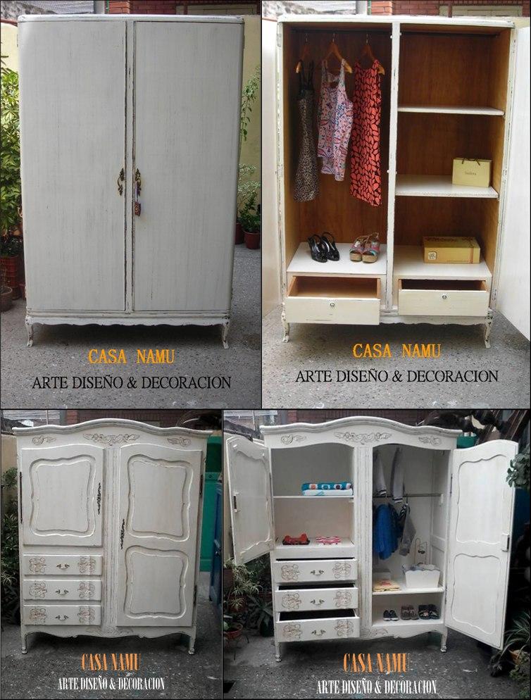 Restauración patinados decapados laqueados muebles casa namu ...