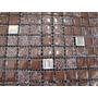 Mosaico Modelo Crac Chocolate 30x30 Por Unidad