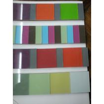 Listeles Y Guardas De Vidrio De Colores Unidad